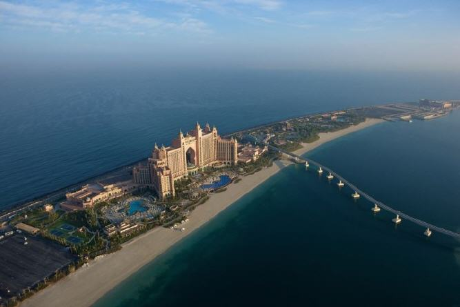 Atlantis The Palm Luftbild
